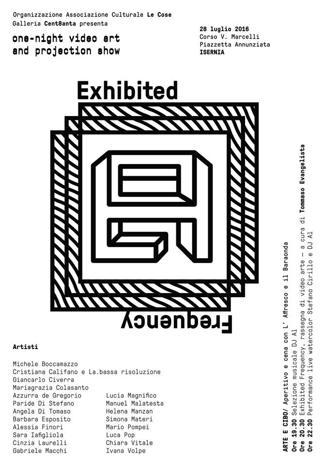 exhibited frequency